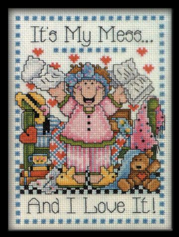 My Mess  Cross Stitch Kit- 9769